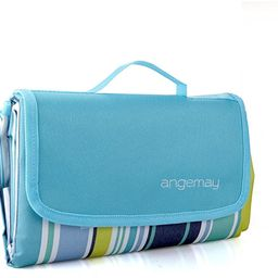 Angemay Outdoor & Picnic Blanket Extra Large Sand Proof and Waterproof Portable Beach Mat for Cam...   Amazon (US)