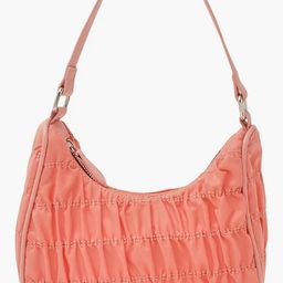 Nylon Ruched Shoulder Bag | Boohoo.com (US & CA)