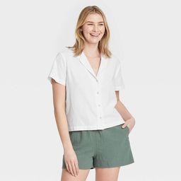 Women's Short Sleeve Button-Down Shirt - Universal Thread™ | Target
