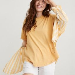 Aerie Destroyed Boyfriend T-Shirt | American Eagle Outfitters (US & CA)