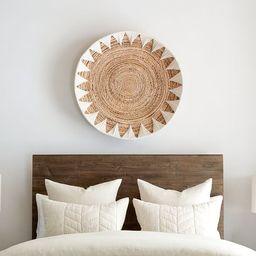 Sunny Handwoven Basket Wall Art | Pottery Barn (US)