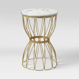 Marble Top Patio Accent Table - Opalhouse™ | Target