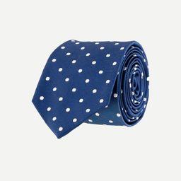 Dotted silk tie | J.Crew US