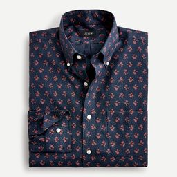 Slim-fit Bowery wrinkle-free stretch cotton shirt | J.Crew US