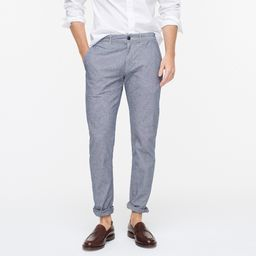 484 Slim-fit chino pant in stretch chambray | J.Crew US