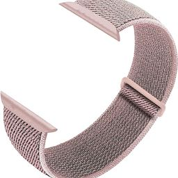 Nylon Sport Loop Band Compatible with Apple Watch Bands 38mm 40mm 42mm 44mm, Women Men Adjustable...   Amazon (US)