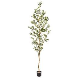 """82"""" Artificial Olive Tree 