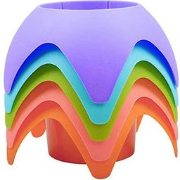 Beach Vacation Accessories, AOMAIS Beach Sand Coasters Drink Cup Holders(MultiColor, 5 Pack) | Amazon (US)