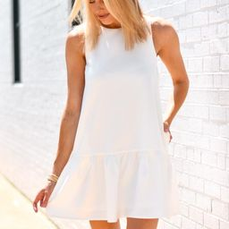 Forever Mine Dress - White | The Impeccable Pig