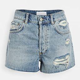 The Cody High Rise Rigid Cut Off Shorts   Shopbop