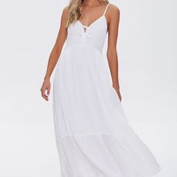 Plunging Maxi Cami Dress | Forever 21 (US)