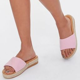 Faux Suede Espadrille Sandals | Forever 21 (US)