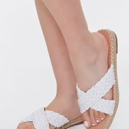 Crisscross Espadrille Flatform Sandals | Forever 21 (US)