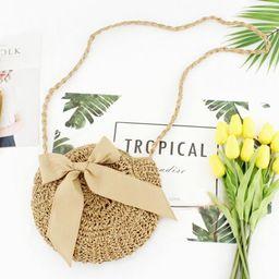 TINKER Clutch Purses For Women Straw Handbag Vintage Handwoven Bag Summer Beach Bag ummer Boho Bo...   Walmart (US)