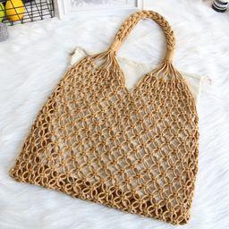 Straw Bag for Women, GMYLE Woven Straw Rattan Hollow Handbag Bag Fashion Spring Summer Travel Sho...   Walmart (US)