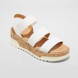 Women's Benni Sporty Platform Sandals - Universal Thread™ | Target
