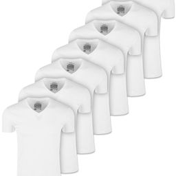 Men's 7-Pack V-Neck T-Shirts, Created for Macy's   Macys (US)