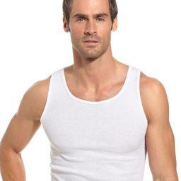 Men's Underwear, Tagless Ribbed Tank Top 5 Pack   Macys (US)