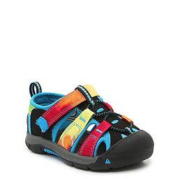 Keen Newport H2 Sandal - Kids' - Girl's - Blue/Multicolor Tie Dye   DSW