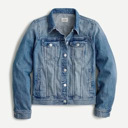Classic denim jacket in Brilliant Day wash   J.Crew US