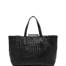 Irene Woven Leather Tote | Bloomingdale's (US)