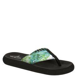 Bluefin Womens Keilani Flip Flop Sandal - Green | Rack Room Shoes