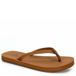 Bluefin Womens Sailor 2 Flip Flop Sandal - Tan | Rack Room Shoes