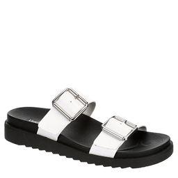 Limelight Womens Odessa Slide Sandal - White | Rack Room Shoes