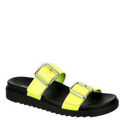 Limelight Womens Odessa Slide Sandal - Yellow | Rack Room Shoes