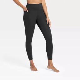 "Women's Contour Power Waist High-Waisted Leggings 26"" - All in Motion™ | Target"