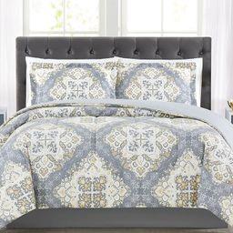 Pem America Trinity 2-Pc. Reversible Medallion Twin Comforter Set, Created for Macy's  & Reviews ...   Macys (US)