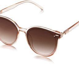 SOJOS Classic Round Sunglasses for Women Men Retro Vintage Large Plastic Frame BLOSSOM SJ2067 | Amazon (US)