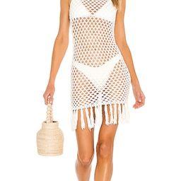 Bri Crochet Mini Dress | Revolve Clothing (Global)