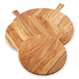 Olivewood Round Cheese Boards   Williams-Sonoma