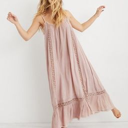 Aerie Crochet Trim Maxi Dress   American Eagle Outfitters (US & CA)