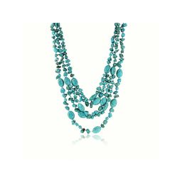"""20"""" 3 Strands  Green Simulated Turquoise  Necklace with Toggle Clasp20 Inch   Walmart (US)"""