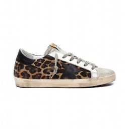 Golden Goose | Leopard Pony Hair Superstar Sneakers | SVMOSCOW.COM | SVMoscow