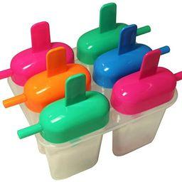 Ice Pop Maker Mold for Homemade Frozen Treats, Popsicles, Frozen Yogurt, Ice Cream, Novelties | Amazon (US)