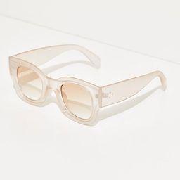 Matera Modern Sunglasses by Free People, MInk, One Size | Free People (US)