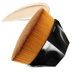 Foundation Makeup Brush Flat Top Kabuki Hexagon Face Blush Liquid Powder Foundation Brush for Ble...   Amazon (US)