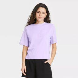 Women's Elbow Sleeve T-Shirt - A New Day™   Target
