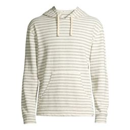 Free Assembly Men's Long Sleeve Stripe Hoodie | Walmart (US)