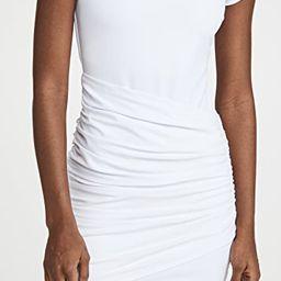 Short Sleeve Gathered Overlay Dress | Shopbop