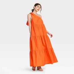 Women's One Shoulder Sleeveless Dress - Who What Wear™   Target