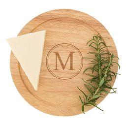 5-Piece Monogram Cheese Board & Utensil Set   Nordstrom
