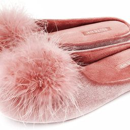 BCTEX COLL Women's Cozy Velvet Memory Foam House Slipper,Ladies Fuzzy Bedroom Slipper Non-slip So...   Amazon (US)