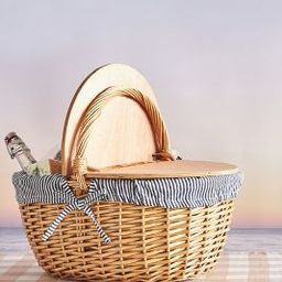 Countryside Picnic Basket   Anthropologie (US)