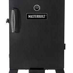 Masterbuilt MB20070210 Analog Electric Smoker with 3 Smoking Racks, 30 inch, Black | Amazon (US)