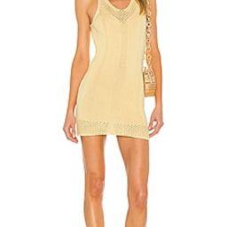 superdown Khloe Knit Dress in Light Yellow from Revolve.com | Revolve Clothing (Global)