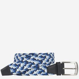 Woven Stretch Knit Belt | Johnston & Murphy
